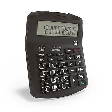 TRU RED™ TR320 12-Digit Desktop Calculator, Black