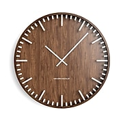 "Union & Scale™ Essentials Wall Clock, Wood, 16"" (UN57811)"