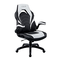Deals on Staples Bonded Leather Racing Gaming Chair 52503