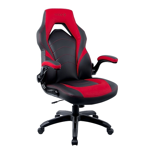 Staples Gaming Chair Black And Red At Staples I unbox the chair, put the chair together and i give my impression on the chair. staples emerge vortex bonded leather gaming chair black and red 51465 cc