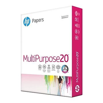 "HP 8.5"" x 11"" Multipurpose Paper, 20 lbs., 96 Brightness, 500/Ream (HPM1120)"