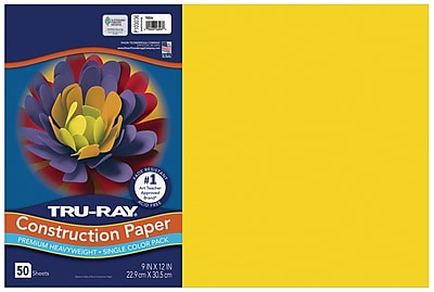 18-Inches by 24-Inches Pacon Tru-Ray Construction Paper 50-Count 103082 Lilac