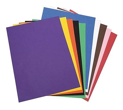18 x 24 Gray 50 Sheets Riverside 3D Construction Paper