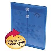 """Smead Ultracolor Top-Load Envelopes, Letter, 1"""" Expansion, Blue, 5/Pack (89542)"""