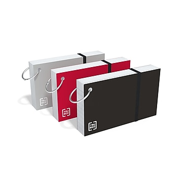 """TRU RED™ 3"""" x 5"""" Index Cards, Lined, White, 65 Cards/Pack, 3 Packs/Carton (TR21580)"""