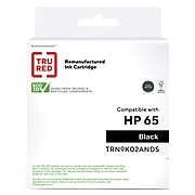 TRU RED™ Remanufactured Black Standard Yield Ink Cartridge Replacement for HP 65 (N9K02AN)