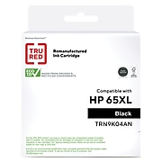 TRU RED™ Remanufactured Black High Yield Ink Cartridge Replacement for HP 65XL (N9K04AN)