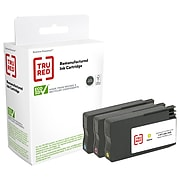 TRU RED™ Remanufactured Cyan/Magenta/Yellow Standard Yield Ink Cartridge Replacement for HP 952 (N9K27AN), 3/Pack