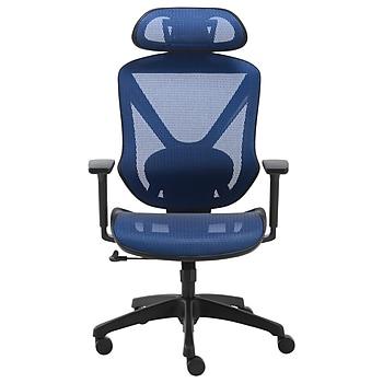 Union & Scale FlexFit Dexley Mesh Task Chair + 10 Masks + Hand Sanitizer