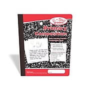 """TRU RED™ Composition Notebook, 7.5"""" x 9.75"""", Primary Ruled, 100/Sheets, Red/Marble (42079)"""