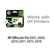 HP 906XL Black High Yield Ink Cartridge (T6M18AN#140)