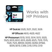 HP 564 Magenta Standard Yield Ink Cartridge (CB319WN#140)
