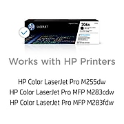 HP 206A Black Standard Yield Toner Cartridge (W2110A)