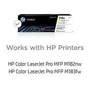 HP 215A Yellow Standard Yield Toner Cartridge (W2312A)