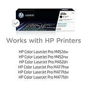 HP 410X Black High Yield Toner Cartridge (CF410X)