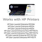 HP 508X Yellow High Yield Toner Cartridge (CF362X)