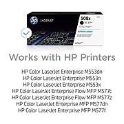 HP 508X Black High Yield Toner Cartridge (CF360X)