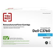 TRU RED™ Remanufactured Cyan High Yield Toner Cartridge Replacement for Dell  (1M4KP)