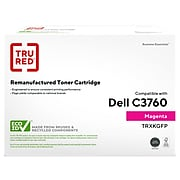 TRU RED™ Remanufactured Magenta High Yield Toner Cartridge Replacement for Dell  (XKGFP)