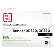 TRU RED™ Remanufactured Black Standard Yield Drum Unit Replacement for Brother DR 820 (DR820)