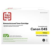 TRU RED™ Remanufactured Yellow Standard Yield Toner Cartridge Replacement for Canon 045 (1239C001)