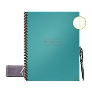 """Rocketbook Core Smart Notebook, 8.5"""" x 11"""", Dot-Grid Ruled, 16 Sheets, Teal (EVR-L-RC-CCE-FR)"""