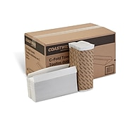 Coastwide Professional™ C-Fold Paper Towels, 1-Ply, 200 Sheets/Pack, 2400/Carton (CW58047)