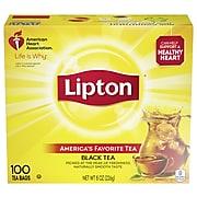 Lipton Black Tea 0.1 oz. Bags, 100/Box (00291)