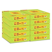 """Staples Brights Multipurpose Paper, 24 lbs., 8.5"""" x 11"""", Lime, 500/Ream (20105)"""