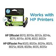 HP 910XL Yellow High Yield Ink Cartridge (3YL64AN#140)
