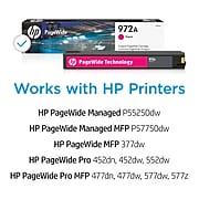HP 972A Magenta Standard Yield Ink Cartridge (L0R89AN)