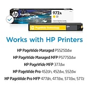 HP 972A Yellow Standard Yield Ink Cartridge (L0R92AN)