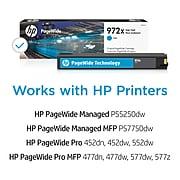 HP 972X Cyan High Yield Ink Cartridge (L0R98AN)