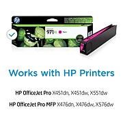 HP 971XL Magenta High Yield Ink Cartridge (CN627AM)