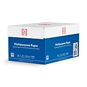 "TRU RED™ 8.5"" x 11"" Multipurpose Paper, 20 lbs., 96 Brightness, 500 Sheets/Ream, 10 Reams/Carton (TR56962)"