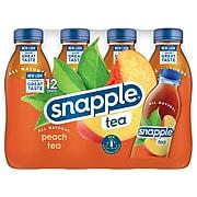 Snapple Peach Tea, 16 oz.,12/Pack (10099485)