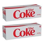Coca-Cola Diet Coke, 12 oz., 24/Carton (00049000028911)