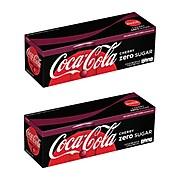 Coca-Cola Zero Sugar Cherry Cola, 12 oz., 24/Carton (00049000047516)