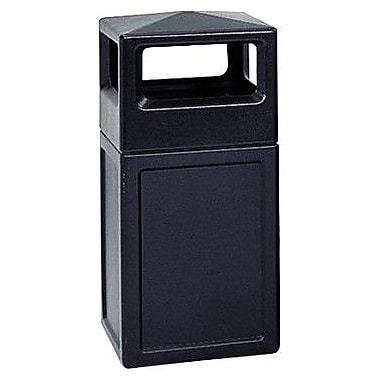 Safco® Trophy Collection38-Gallon Side Opening Receptacle, 18