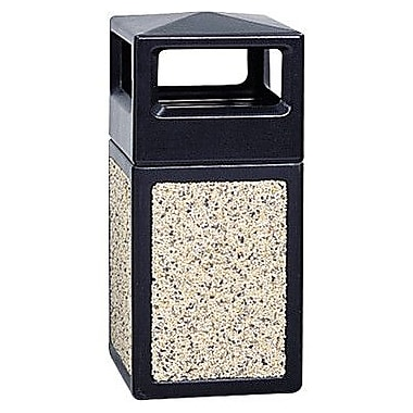 Safco® Trophy Collection™ 38-Gallon Side Opening Receptacle, 18
