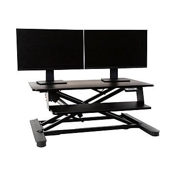 """Ergotech Freedom Desk 6"""" - 23"""" Adjustable, Black (FDM-E-DESK)"""