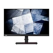 """Lenovo ThinkVision P24h-20 61F4GAR1US 23.8"""" LED Monitor, Black"""