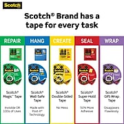 """Scotch® Gift Wrap Tape with Dispenser, 3/4"""" x 23.61 yds., 4/Rolls (415)"""