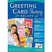 Greeting Card Factory Deluxe, 1 User, DVD (RMWT-NRS)