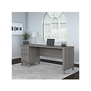 "Bush Furniture Somerset 72"" Office Desk, Gray (WC81272)"