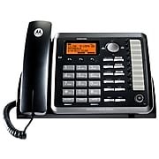 Motorola ML25254 2-Line Corded Phone, Black