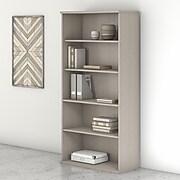 "Bush Business Furniture Studio C 5-Shelf 73""H Bookcase, Sand Oak (SCB136SO)"