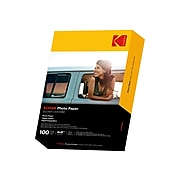 """Kodak Glossy Photo Paper, 4"""" x 6"""", 100/Pack (9891-183)"""