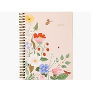 "2021 Rifle Paper Co. 6.25"" x 8.5"" Planner, Strawberry Fields, Multicolor (PLC002)"