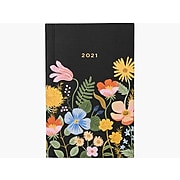 "2021 Rifle Paper Co. 3.5"" x 5.5"" Planner, Strawberry Fields, Multicolor (PLP003)"